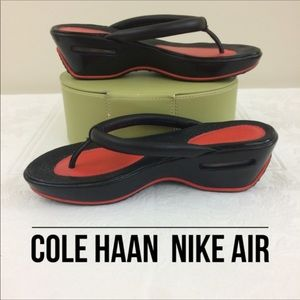 Cole Haan Nike Air Thong Wedges